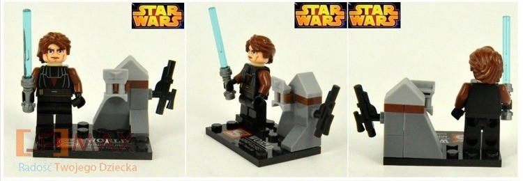 Mini figurka Lord Vader Star wars od JPMAX